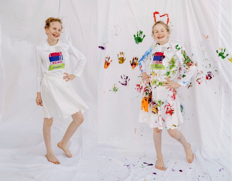 Ode to Eric Carle by Skirt Fixation