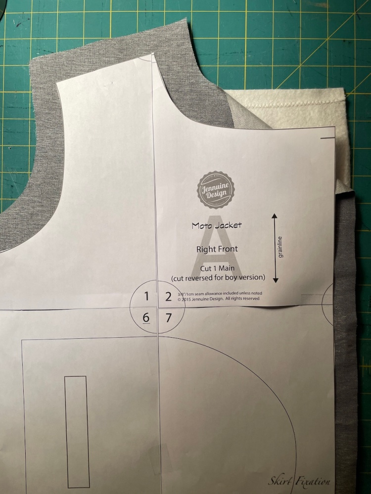 Quilted jacket tutorial from Skirt Fixation