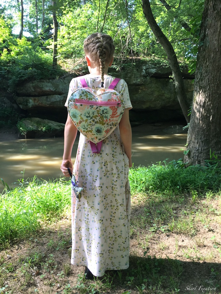 Forest Floor laminated backpacks sewn by Skirt Fixation