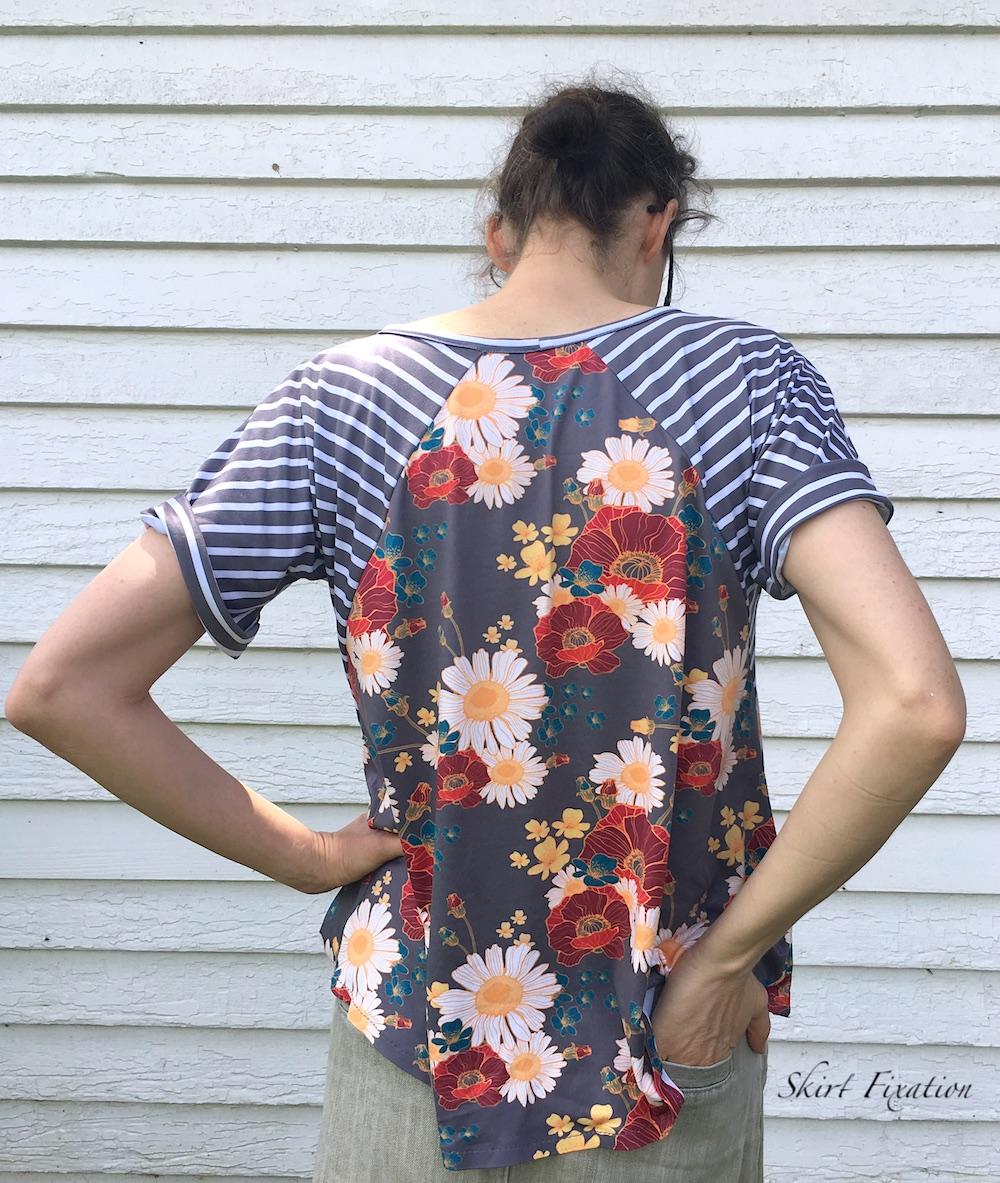 Santa Fe Top sewn by Skirt Fixation