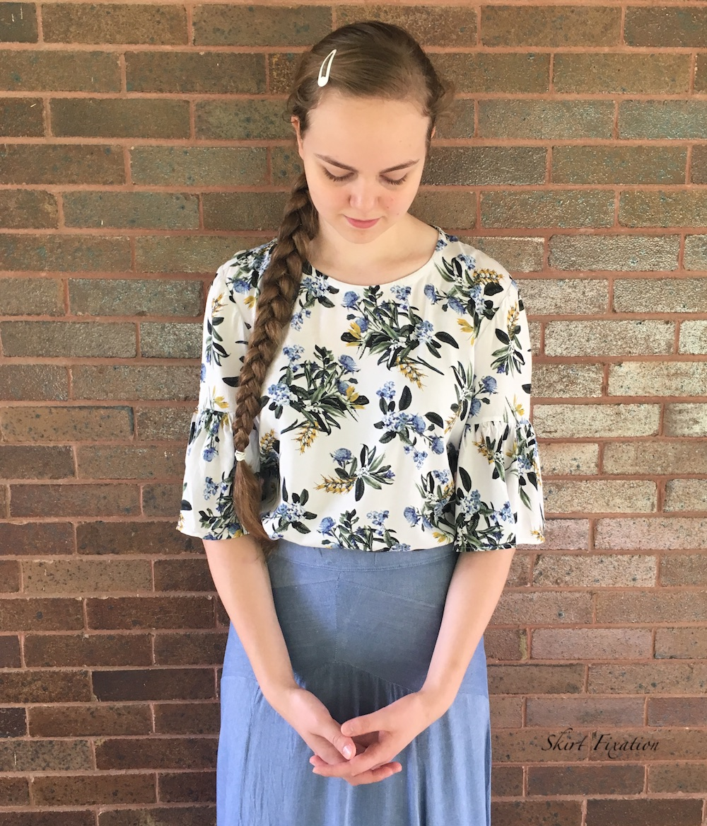 Key Largo Top sewn and reviewed by Skirt Fixation