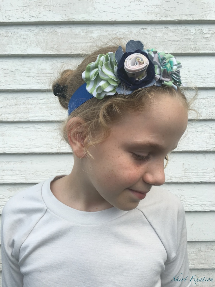 Headband sewing by Skirt Fixation