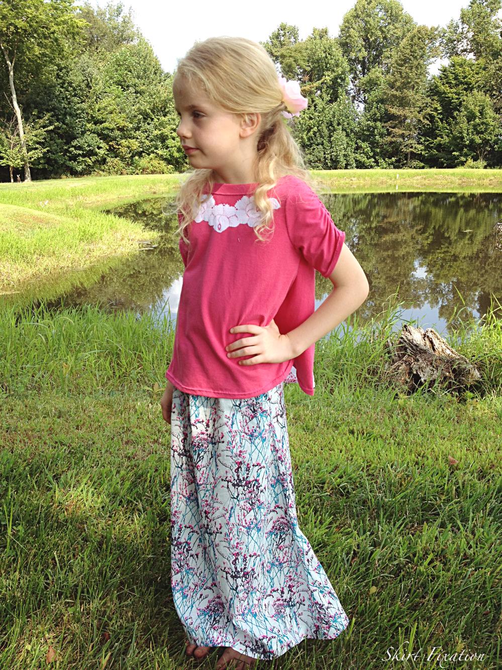 Modern Chloris sewn by Skirt Fixation