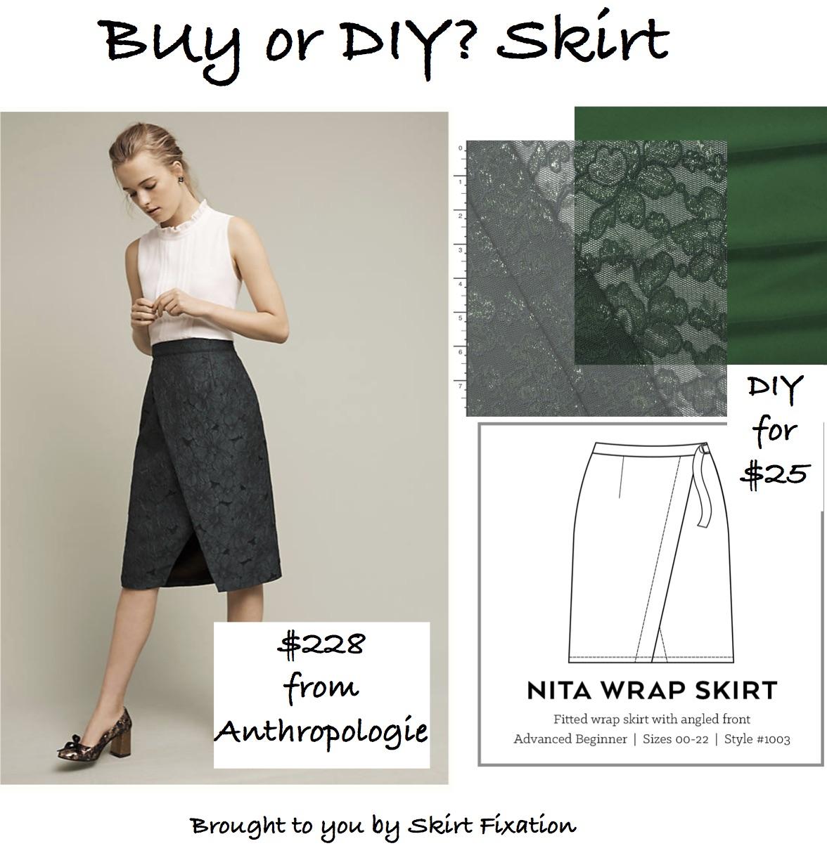 Copycat Anthropologie Skirt