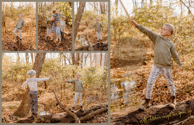 Peter Pan inspired photoshoot by Skirt Fixation