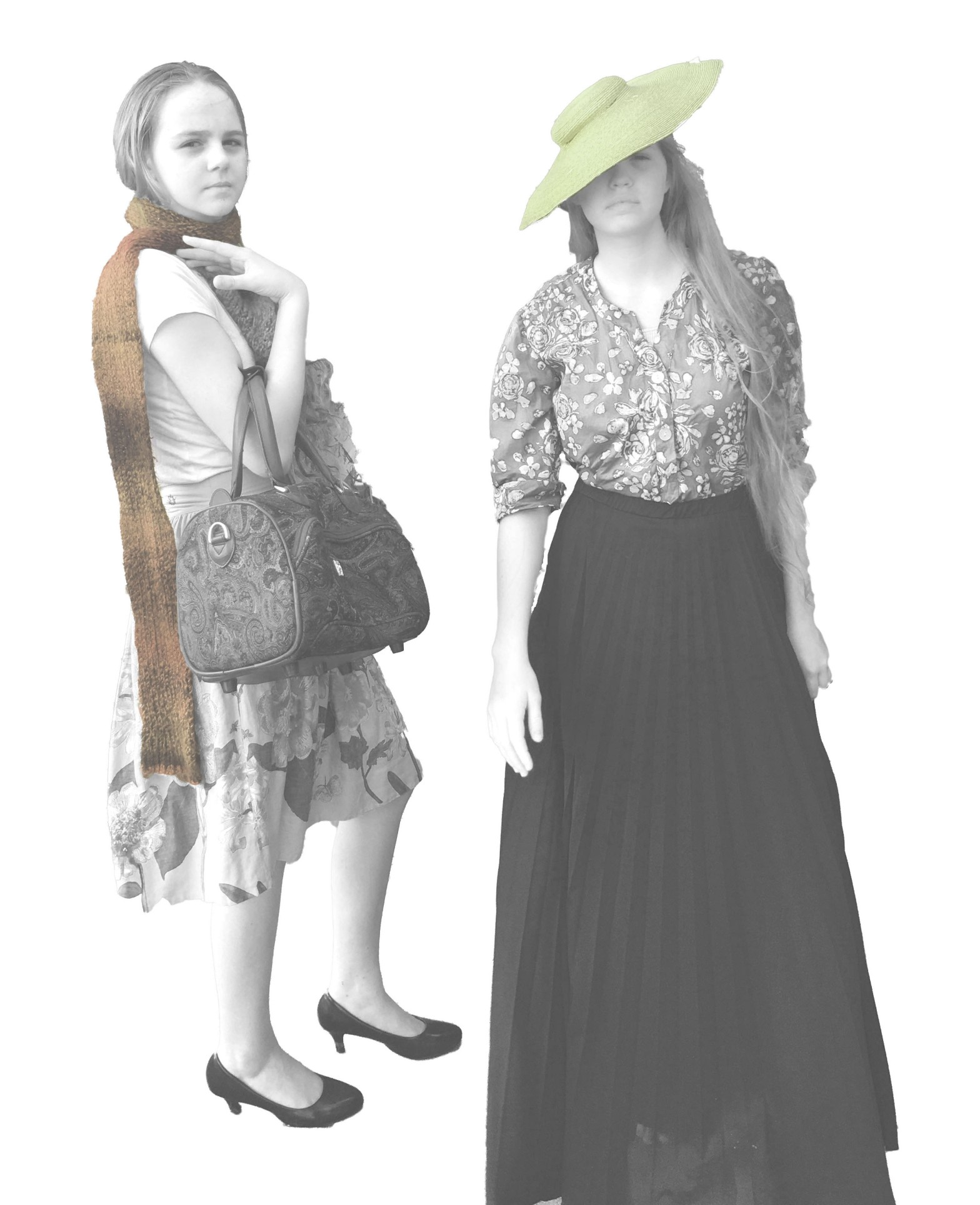 Fashion Illustration brought to life by Skirt Fixation
