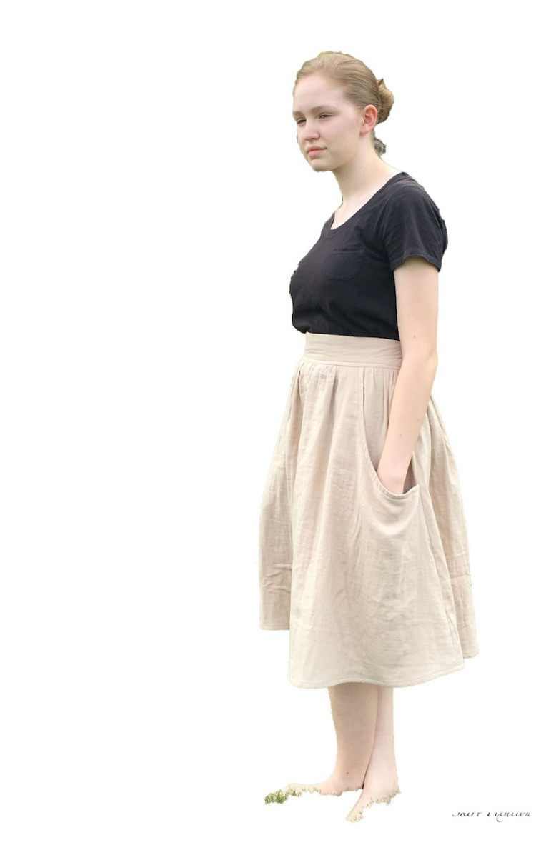 Brumby Skirt sewn by Skirt Fixation