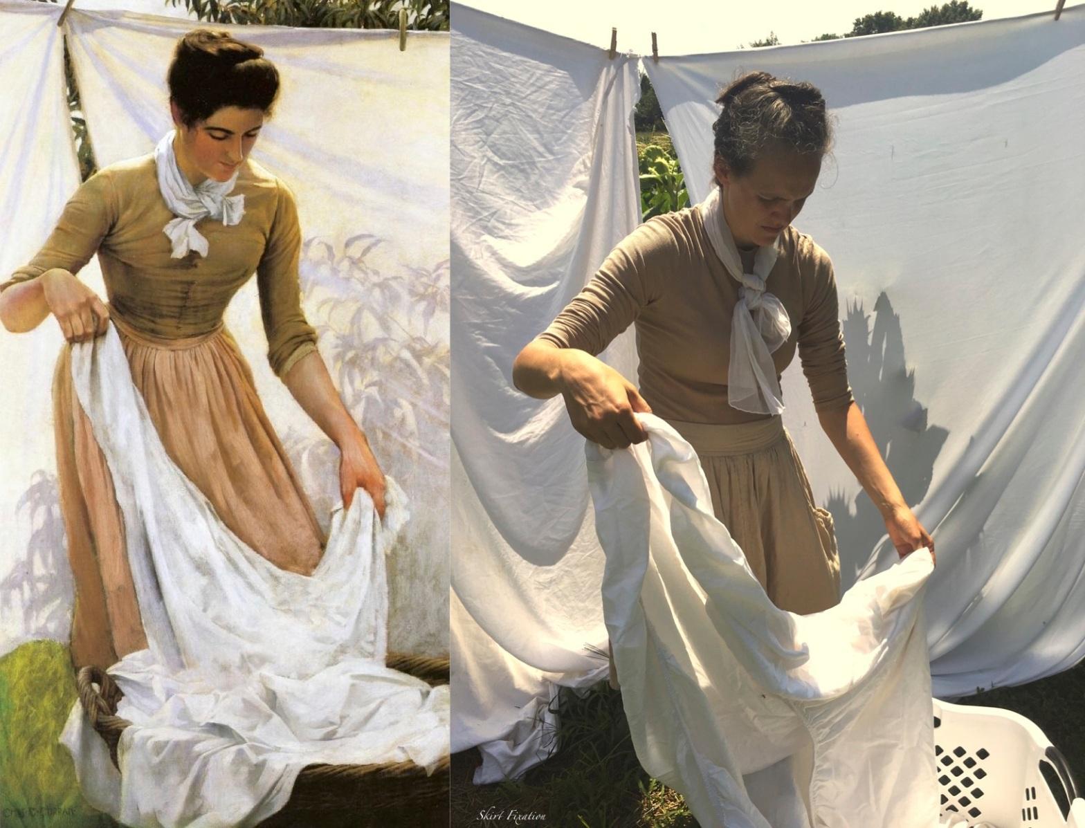 Living Skirt Art recreated by Skirt Fixation
