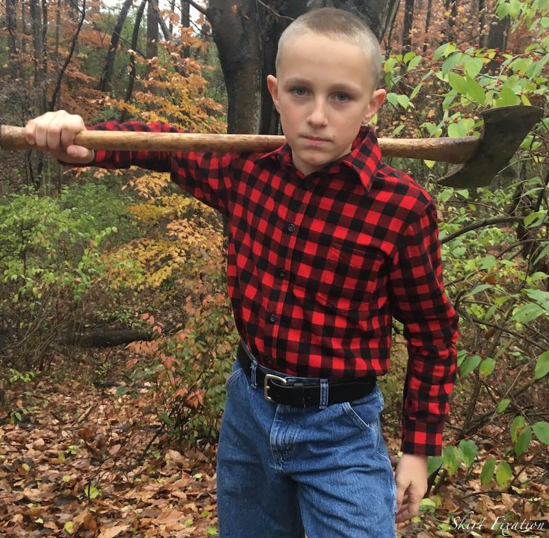 Buffalo Plaid Lumberjack Shirt by Skirt Fixation