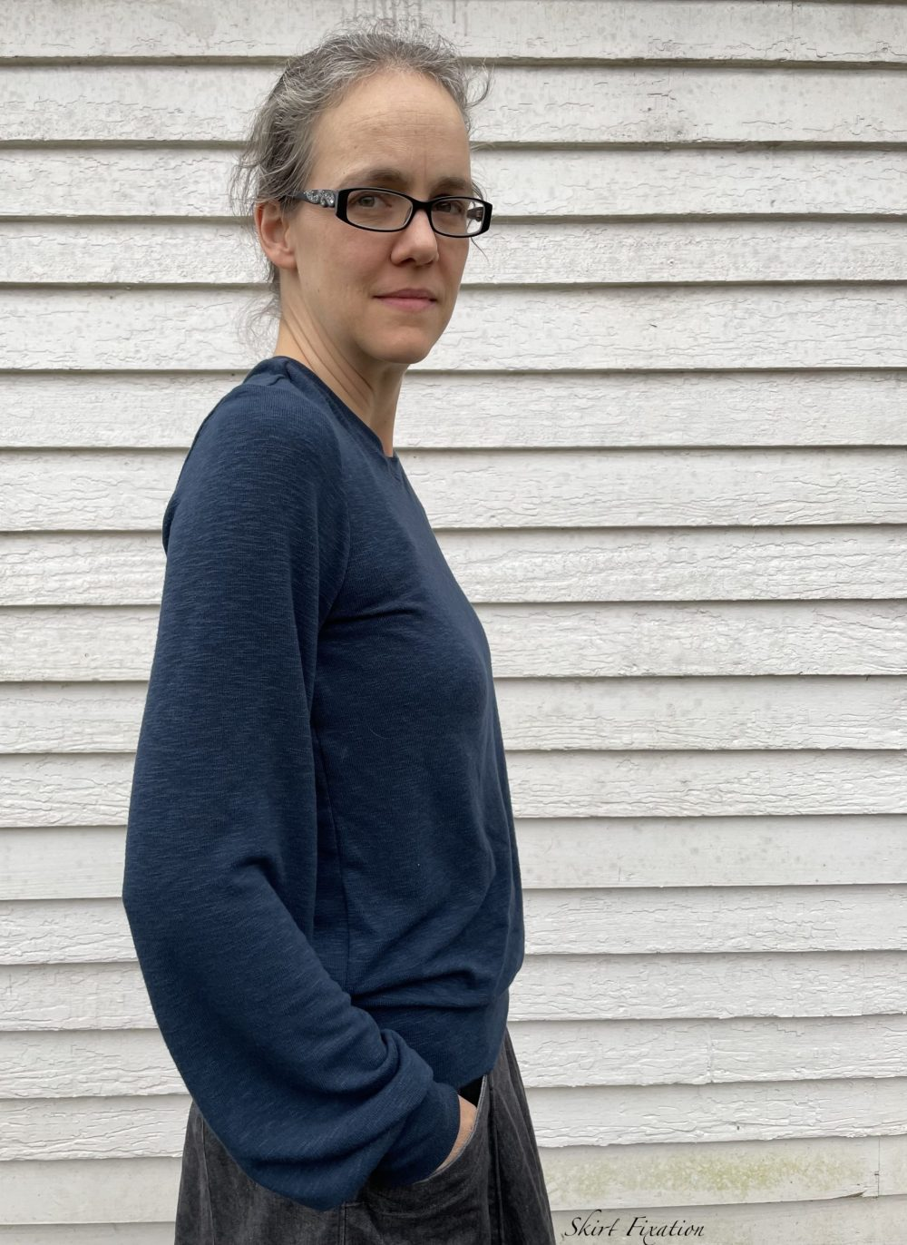 Sheridan Sweater sewn and reviewed by Skirt Fixation