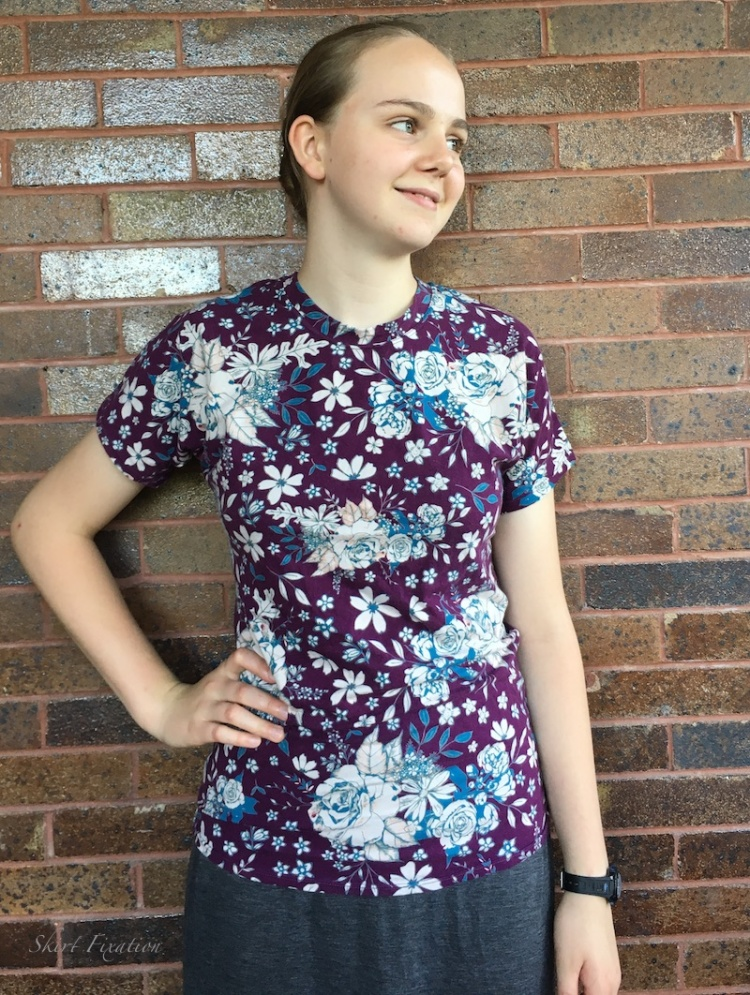 Purple Seafarer tops sewn and reviewed by Skirt Fixation