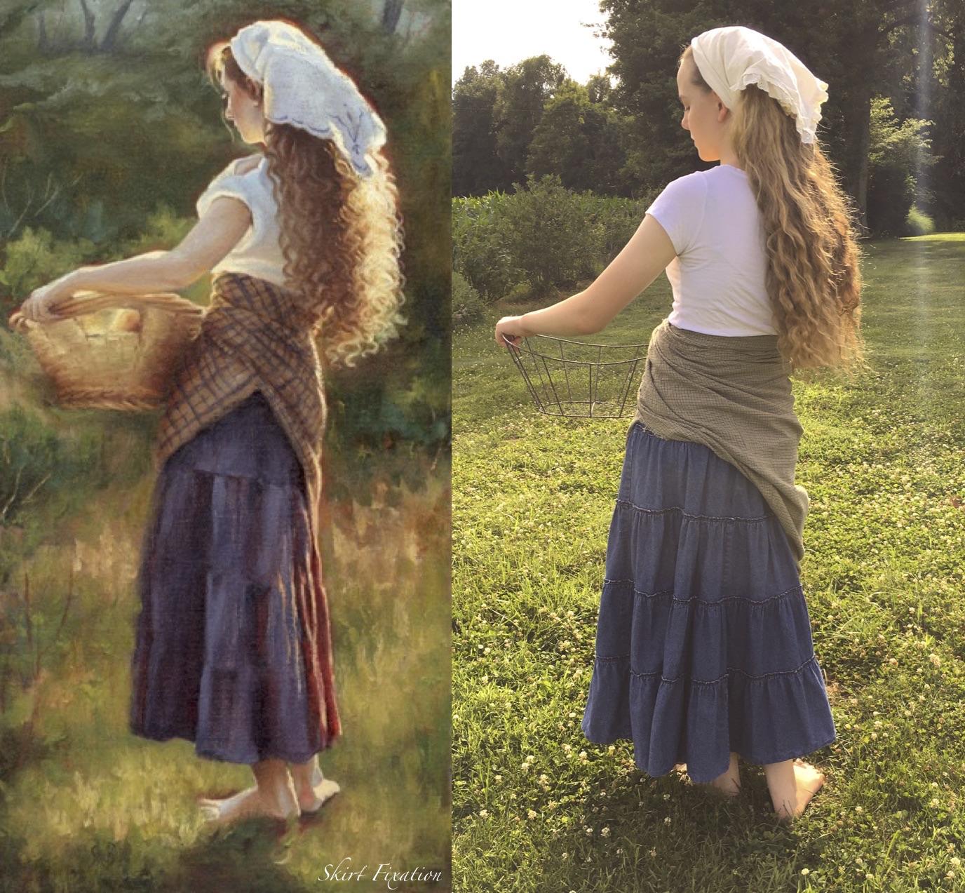 Living Skirt Art by Skirt Fixation