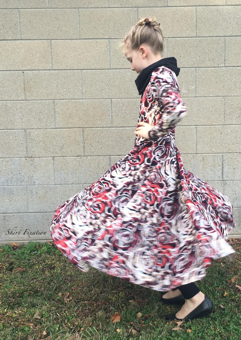 Janie Dress sewn by Skirt Fixation