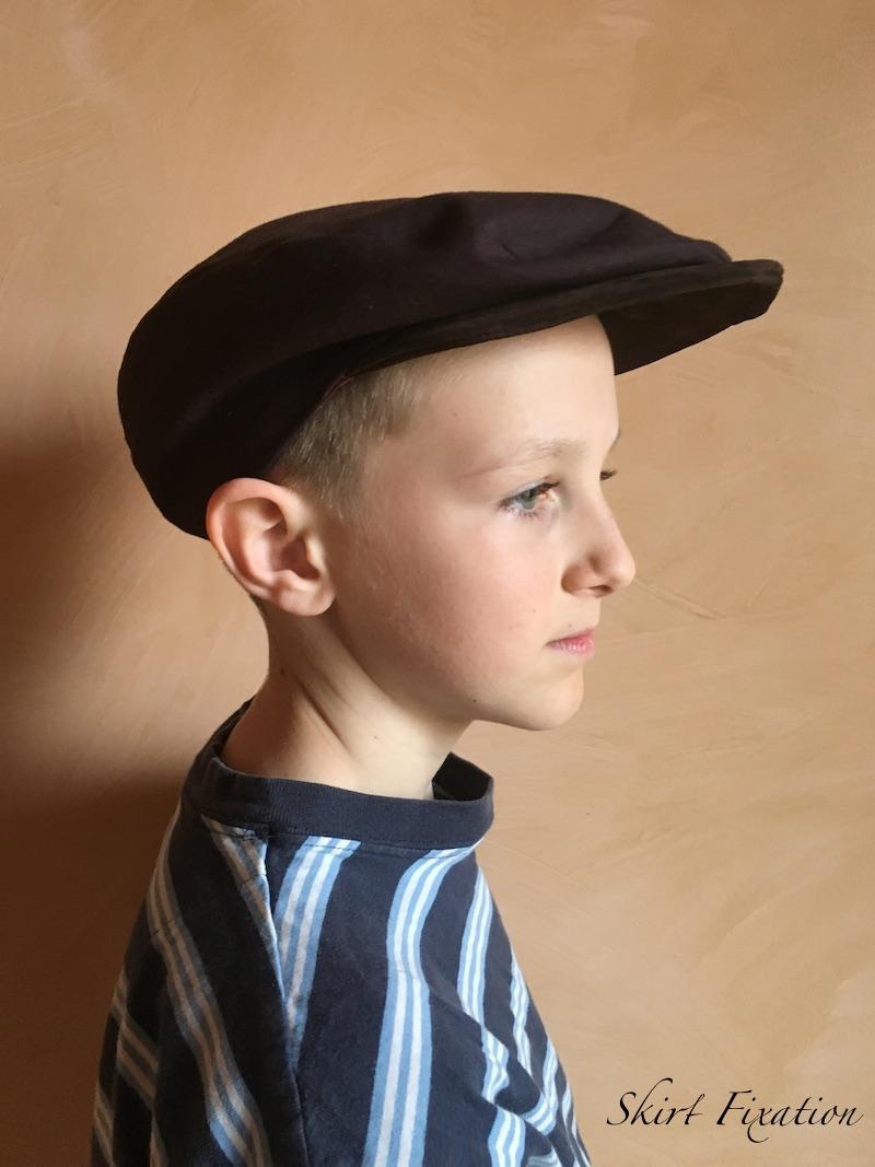 Newsboy Cap made by Skirt Fixation