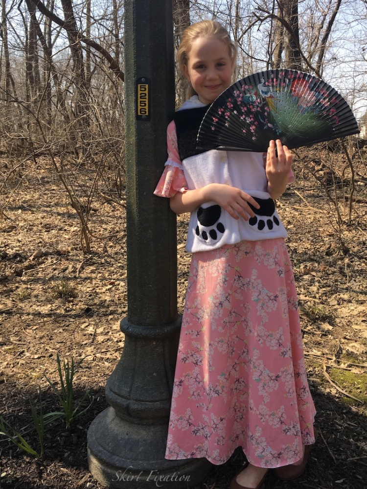Great Wall of China inspired children's clothing designed by Skirt Fixation