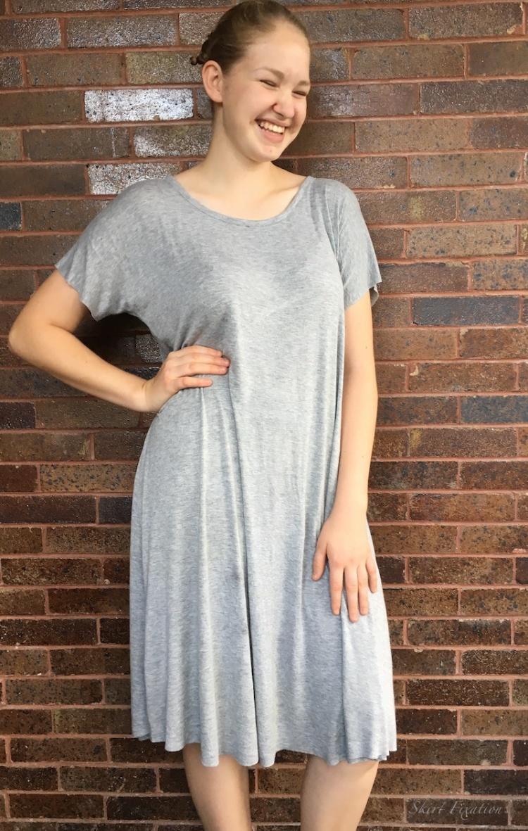 Santa Fe top turned dress by Skirt Fixation