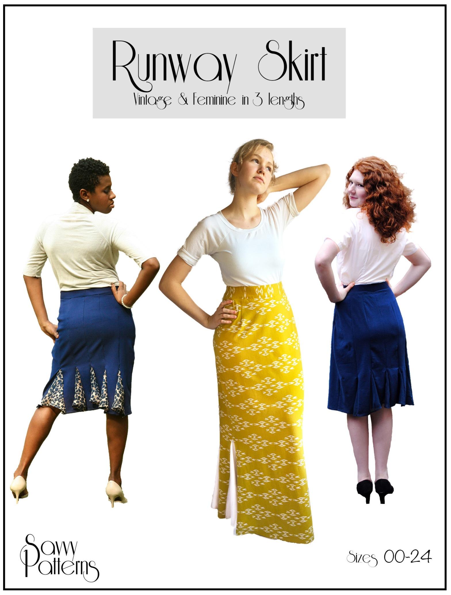 The Runway Skirt pattern