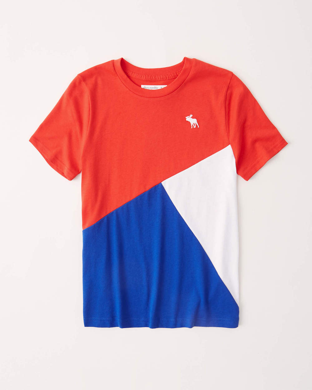Abercrombie Colorblock T-shirt DIY from Skirt Fixation