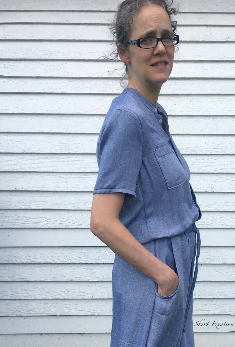 Sanibel Dress pattern sewn and reviewed by Skirt Fixation