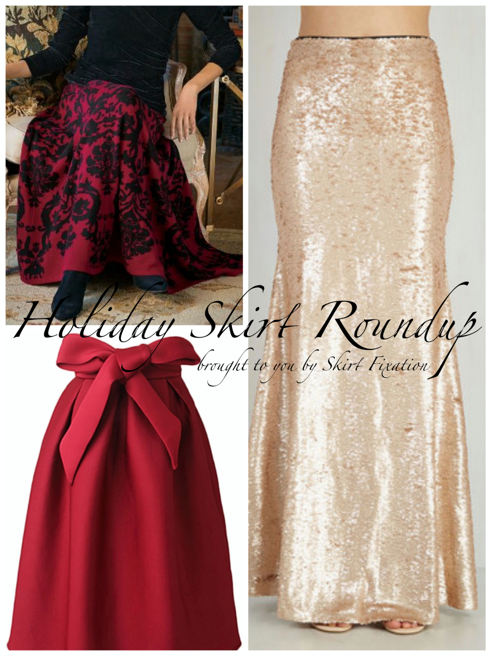 Holiday Skirt Roundup brought to you by Skirt Fixation