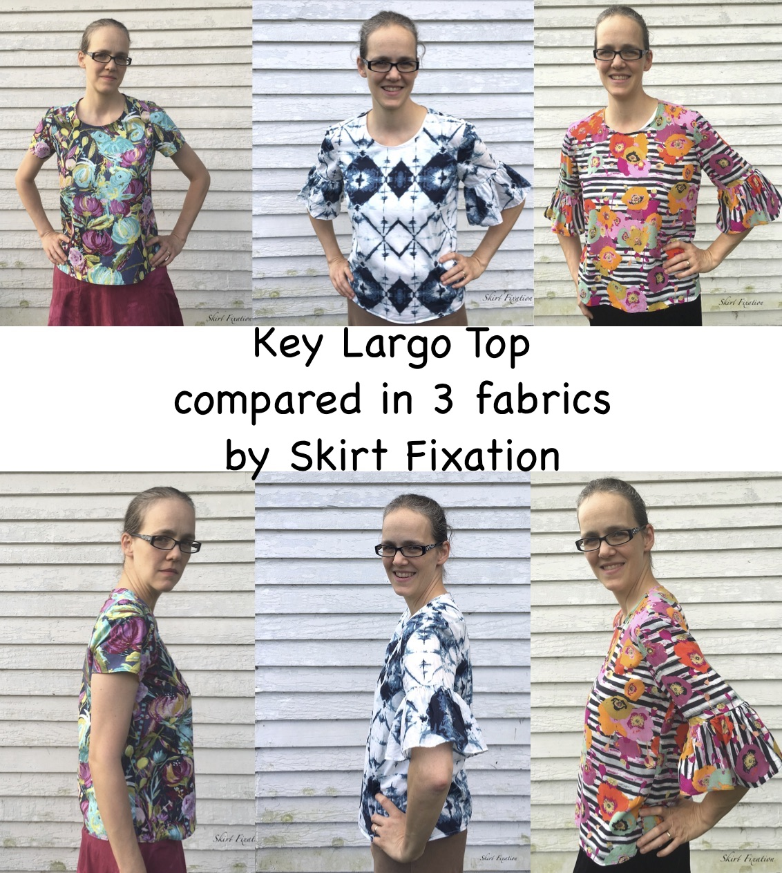 Key Largo Top fabric comparison by Skirt Fixation
