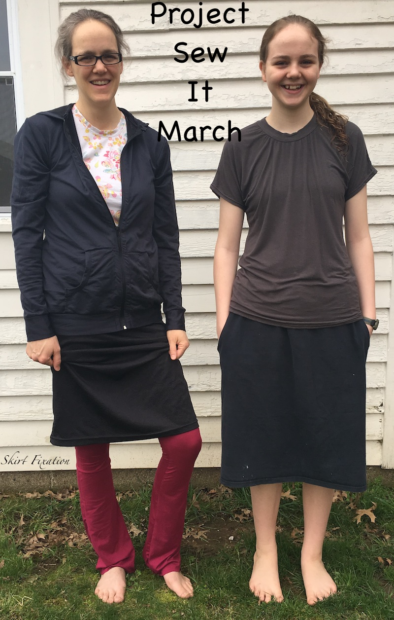Skirt Fixation sews up free patterns for Project Sew It