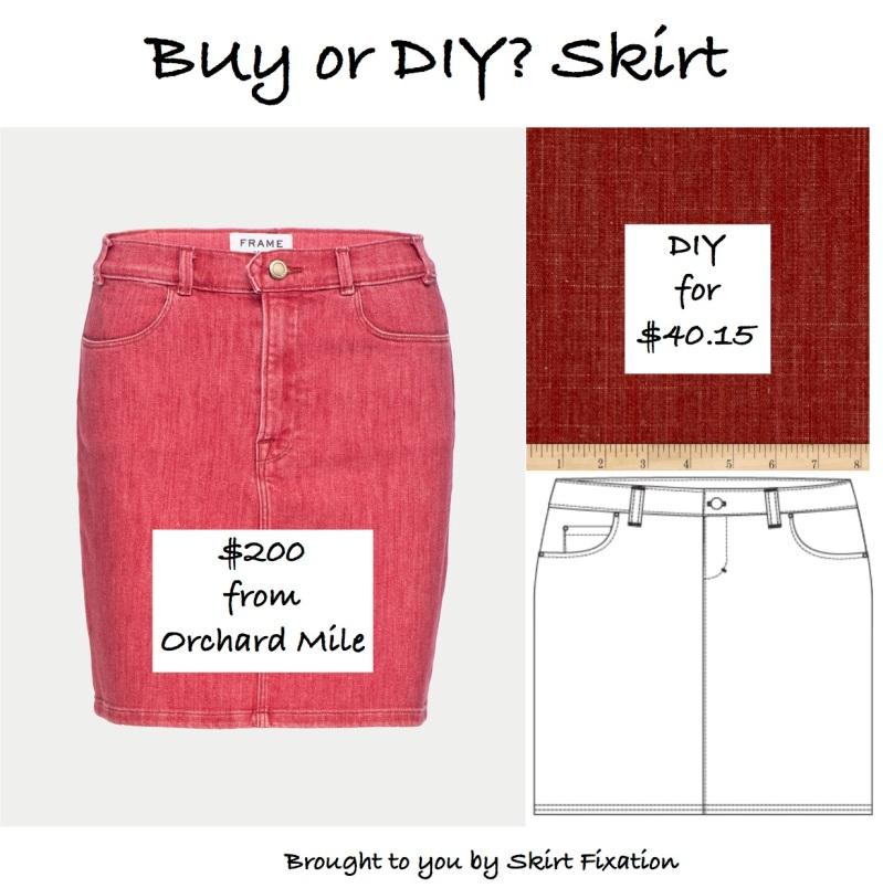 Buy or DIY Denim Skirt by Skirt Fixation
