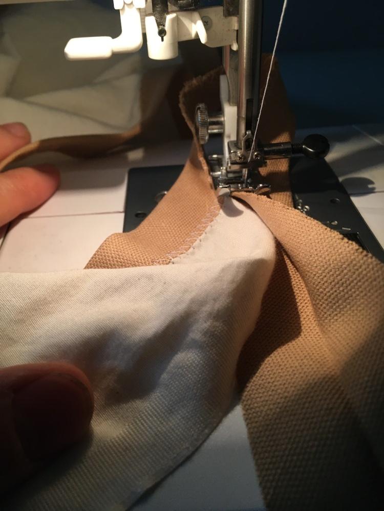 DIY Sailcloth Tutorial from Skirt Fixation