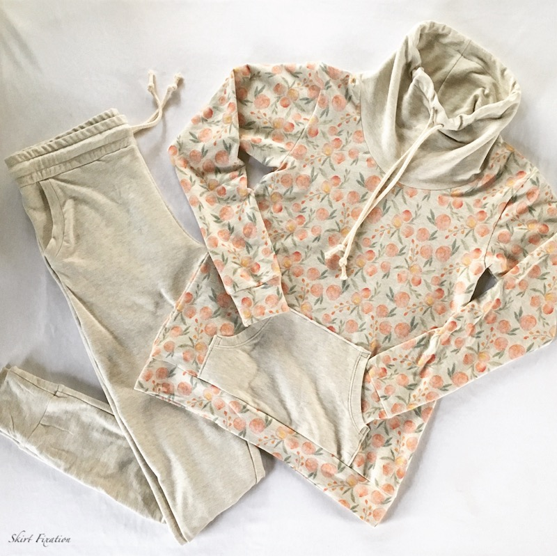 French Terry Pajamas sewn by Skirt Fixation