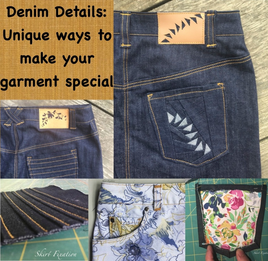Denim Details: Ways to make your garment special from Skirt Fixation