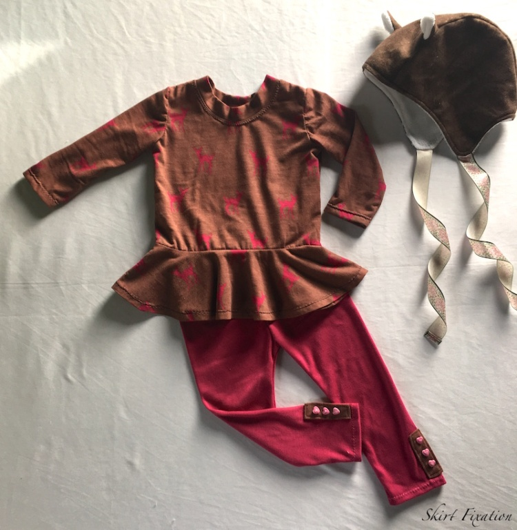 """Project Sew It birthday present for a """"deer"""" girl sewn by Skirt Fixation"""