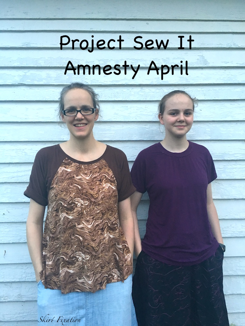 Project Sew it - Amnesty April sewn by Skirt Fixation