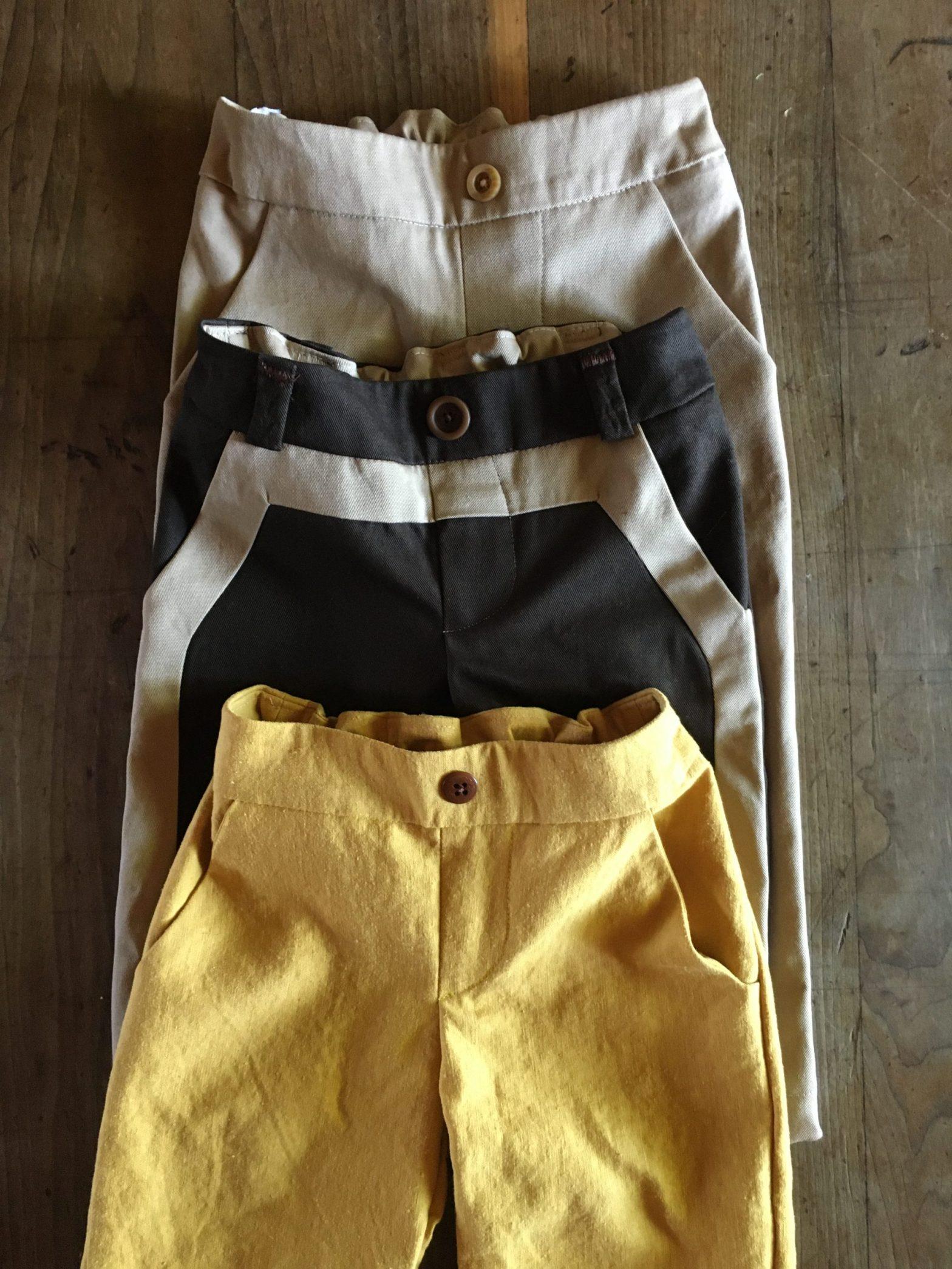 Morocco Pants sewn by Skirt Fixation