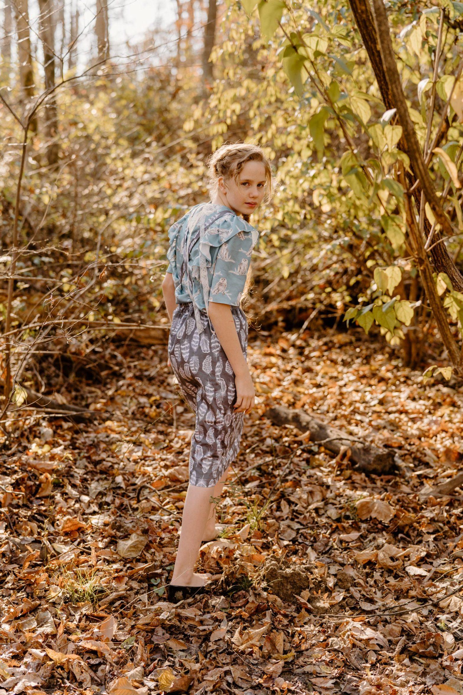 Novella Pinafore sewn and reviewed by Skirt Fixation