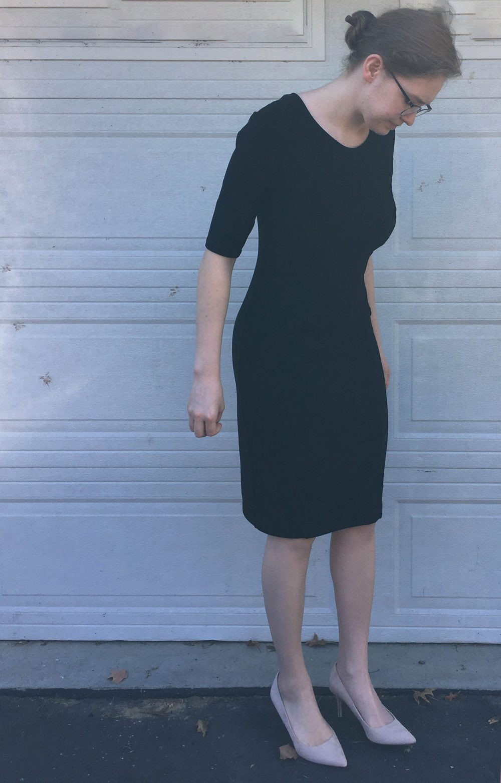 Charleston Dress pattern sewn and reviewed by Skirt Fixation