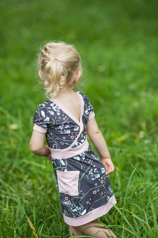 Risu Dress sewn and reviewed by Skirt Fixation