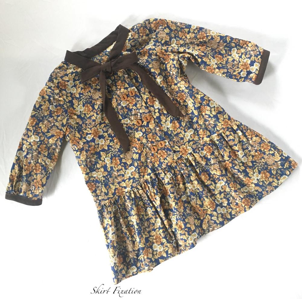 Modified dress to peplum by Skirt Fixation