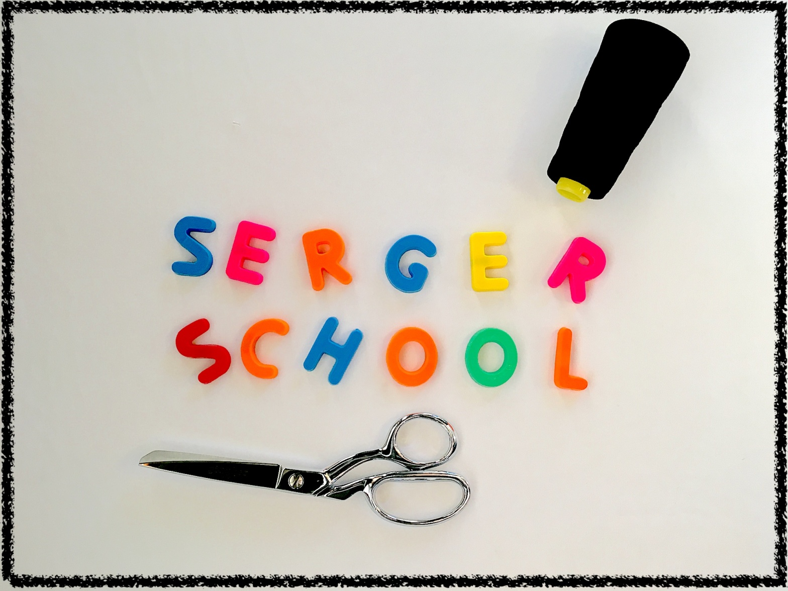 Serger School with Skirt Fixation