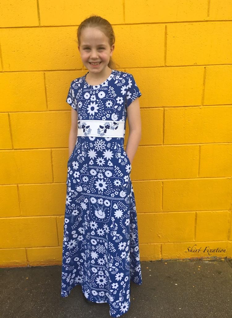 Fiesta Fun Fabrics sewn by Skirt Fixation