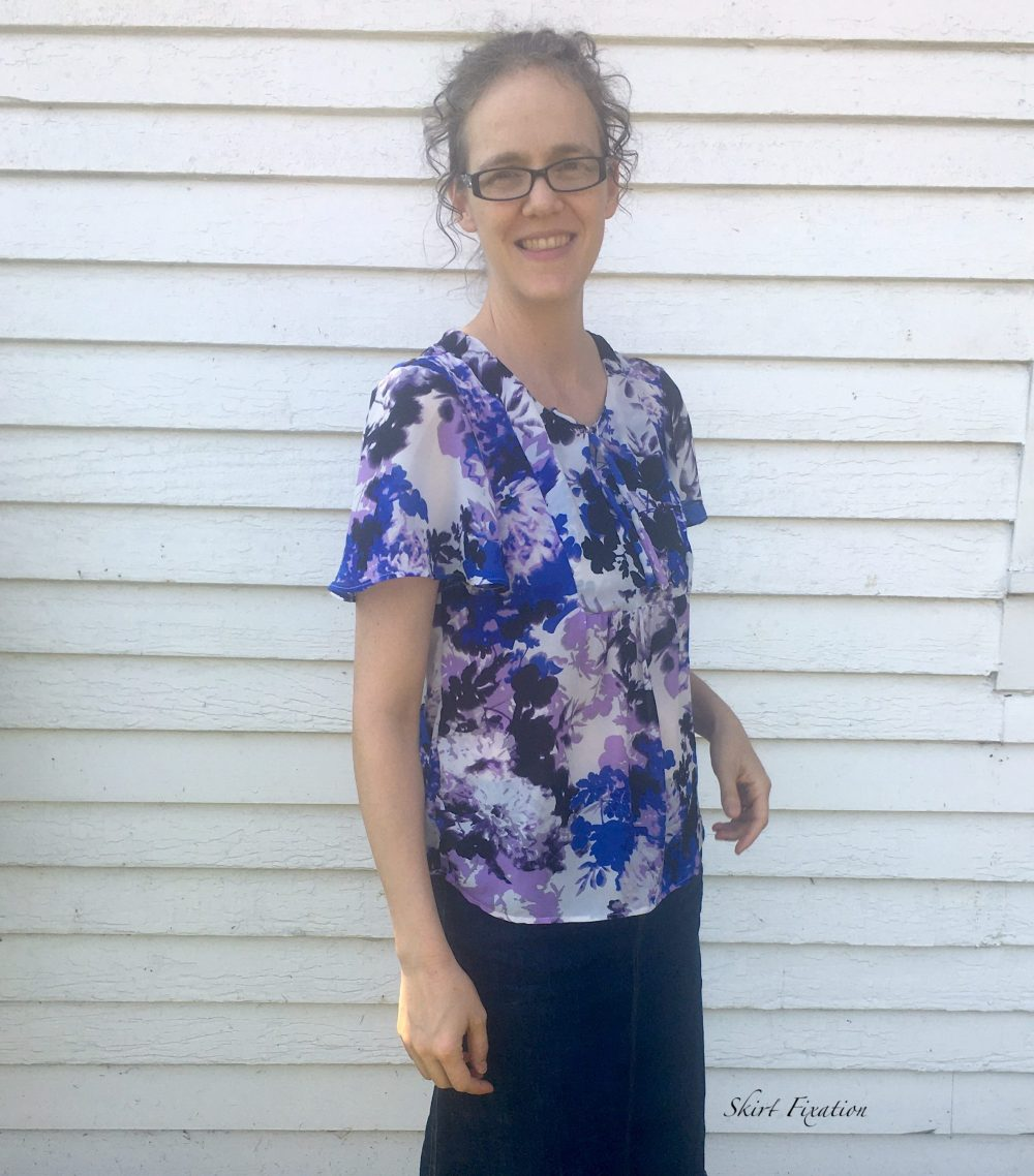 5 Tips for sewing with chiffon fabric from Skirt Fixation