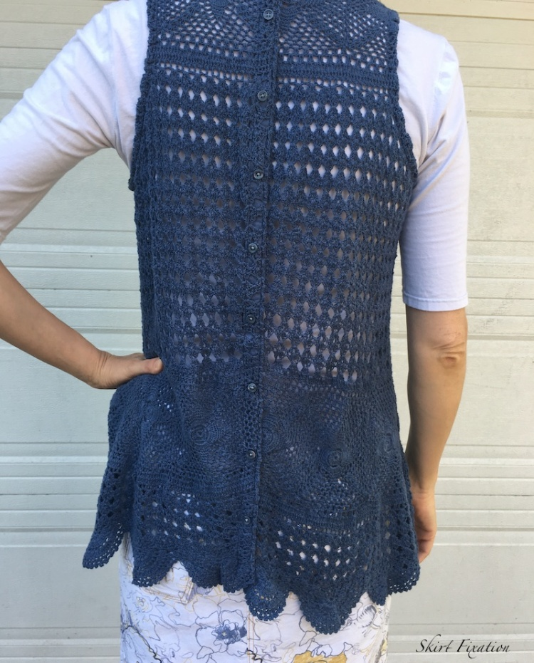 Sandbridge Skirt sewn and reviewed by Skirt Fixation