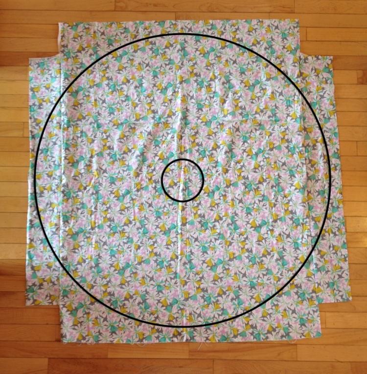 Skirt Fixation circle skirt tutorial