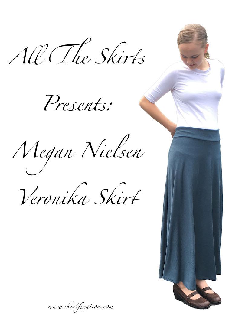 Veronika Skirt (FREE pattern!) sewn by Skirt Fixation