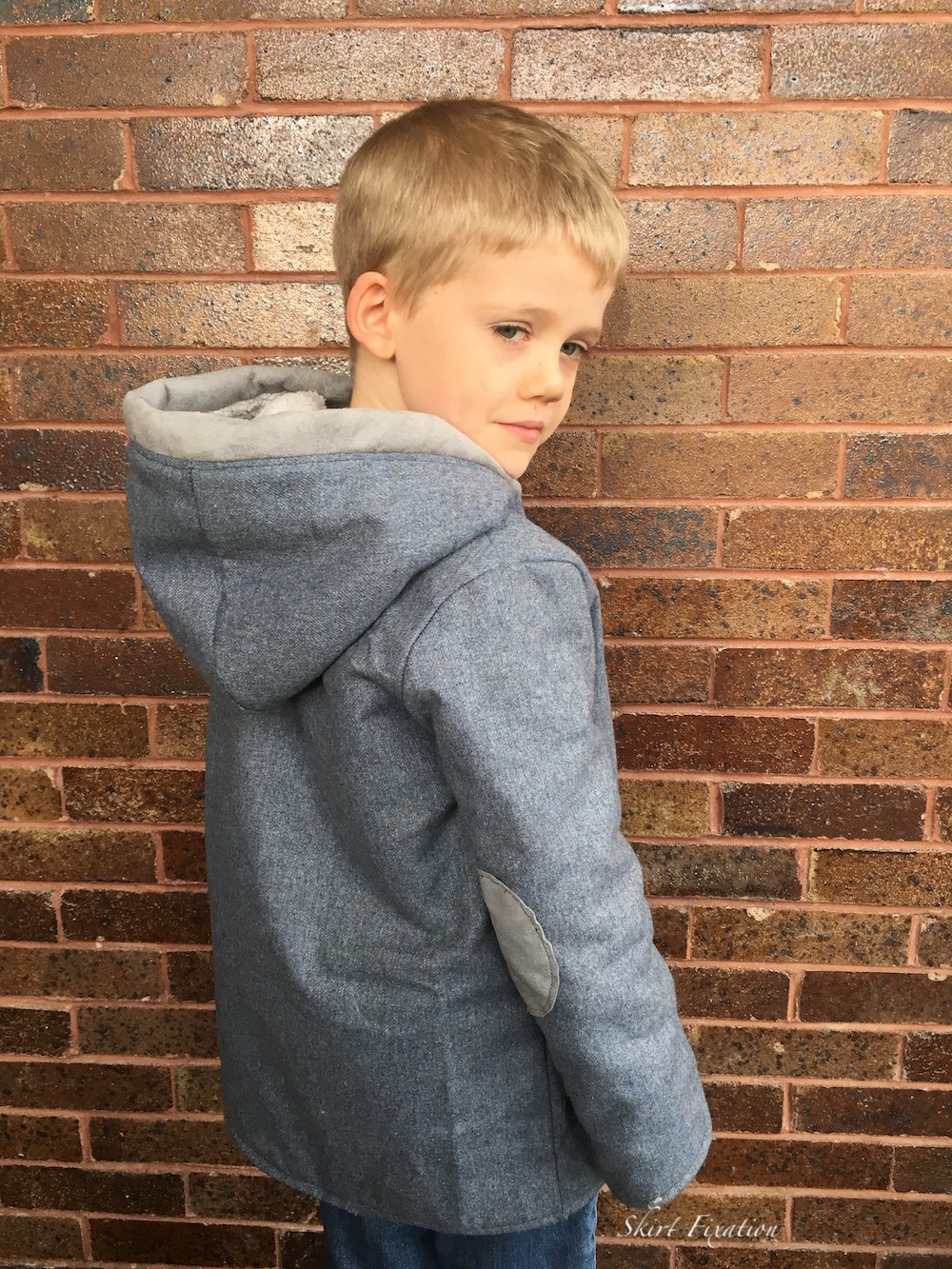 Downton Duffle Coat sewn by Skirt Fixation