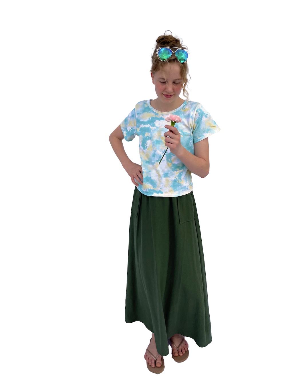 Bacio Basic Tee sewn and reviewed by Skirt Fixation