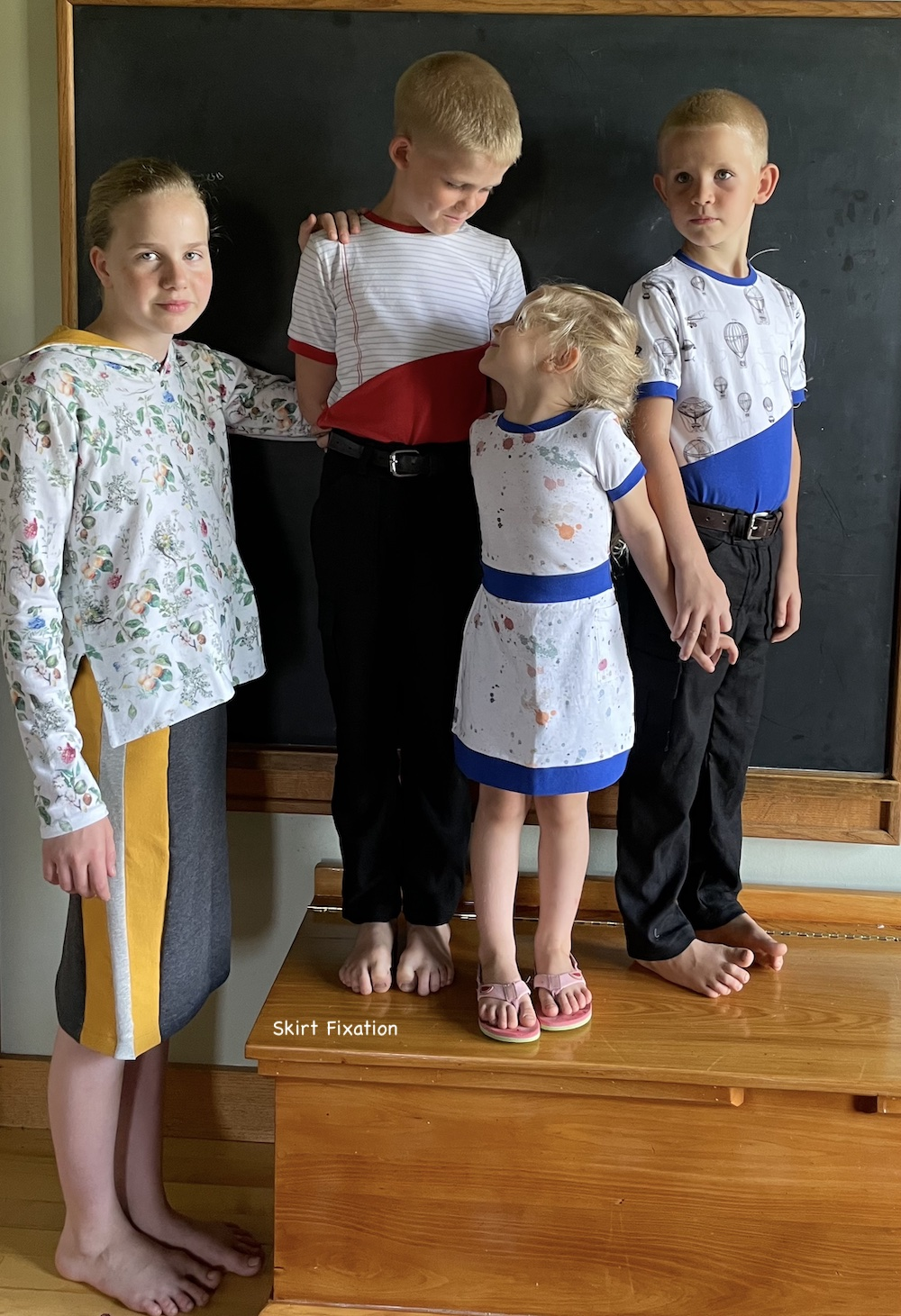 Back to School clothing inspiration from Skirt Fixation.